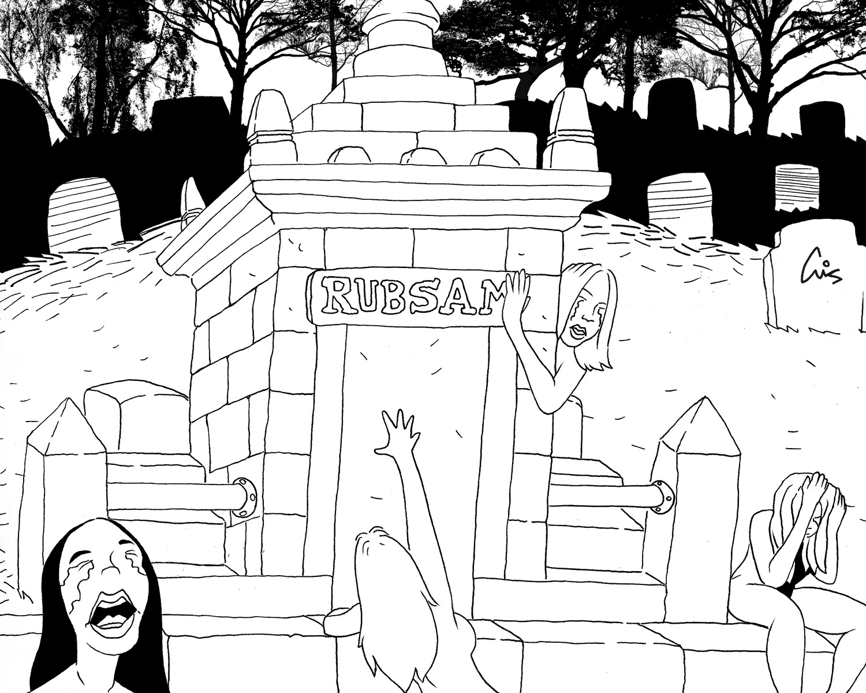 Rubsam Grave Illustration