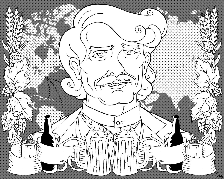 RnH Beer Illustration