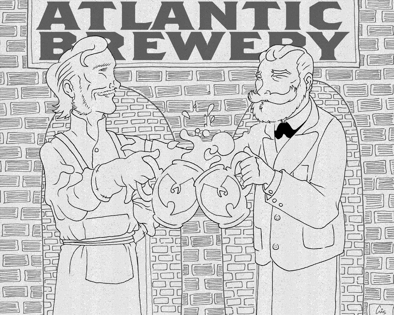 Rubsam & Horrmann's Atlantic Brewery