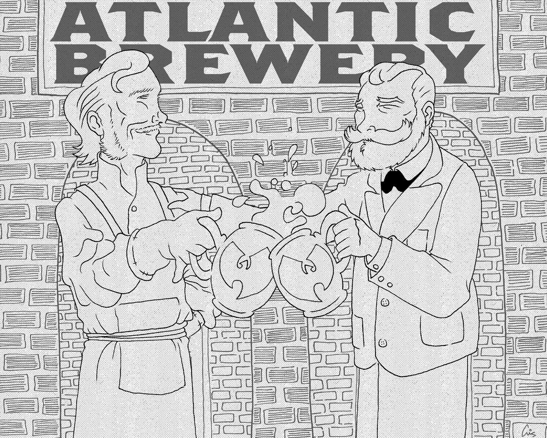 Rubsam & Horrmann's Atlantic Brewery