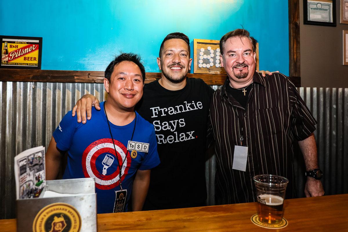 Ming, Sal, Brian